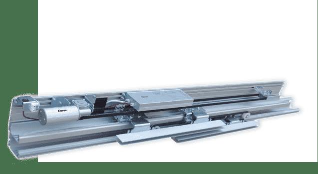 מנגנון דלת אוטומטית טלסקופית DBS-100
