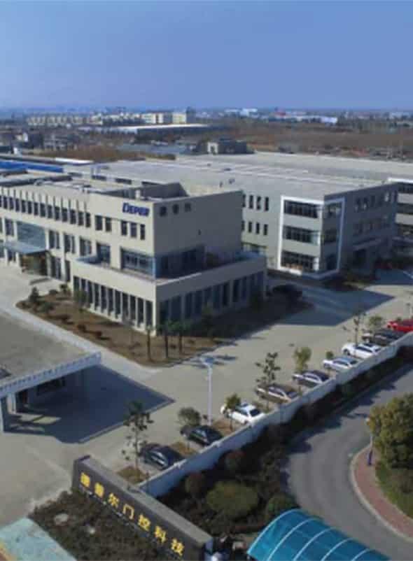מבט על מבנה מפעל Deper